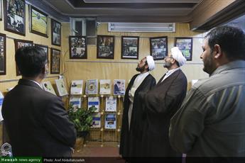 تصاویر/ بازدید مدیر حوزه علمیه خوزستان از خبرگزاری حوزه