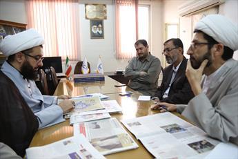 بازدید مدیرحوزه علمیه کردستان  از خبرگزاری حوزه