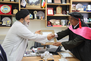 حضور  یکی از رهبران مسلمانان میانمار در دانشگاه ادیان