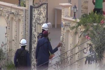 یورش گسترده مزدوران آل خلیفه به منازل مردم شهرهای مختلف بحرین