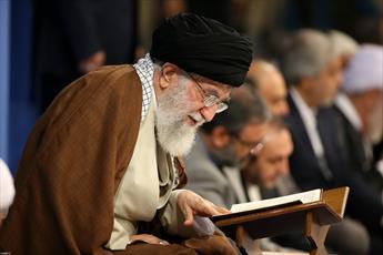 تصاویر/ محفل انس با قرآن کریم در حضور رهبر معظم انقلاب