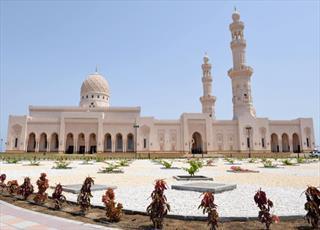 تصاویری از افتتاح مسجد سیده  فاطمه بنت علی در عمان