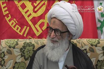 خطبای حسینی با جریان های انحرافی و مشکوک مبارزه کنند