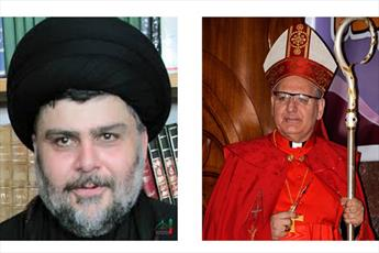 رئیس کلیسای کلدانی عراق به سید مقتدی صدر تبریک گفت