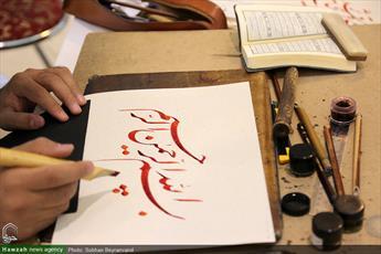تصاویر/ بخش هنري نمايشگاه بين المللي  قرآن كريم-۴