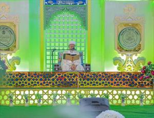 محفل قرآنی رمضانی در حرم امیرالمؤمنین (ع)+ تصاویر