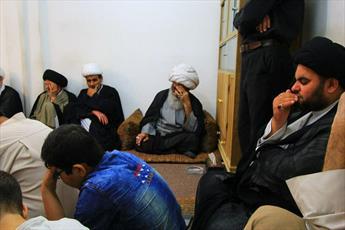 مراسم ایام ماه رمضان در دفتر آیت الله العظمی بشیر نجفی برگزار می شود+ تصاویر