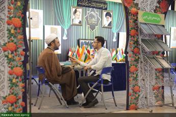 تصاویر/ بخش حوزوی در سومین روز نمایشگاه بین المللی قرآن(۹)