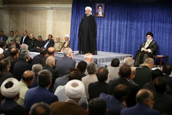 تصاویر/ دیدار مسئولان و کارگزاران نظام با رهبر معظم انقلاب
