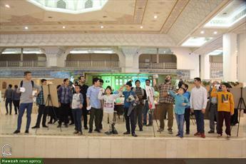 تصاویر/ چهارمین روز بیست و ششمین نمایشگاه بین المللی قرآن(۱۰)