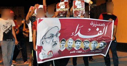 تظاهرات و اعتراضات مردمی در سرتاسر بحرین برگزار شد + تصاویر