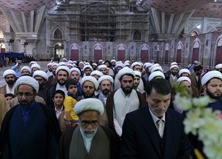 مسئولان و مبلغان  حوزه علمیه تهران با آرمان های امام راحل تجدید میثاق کردند