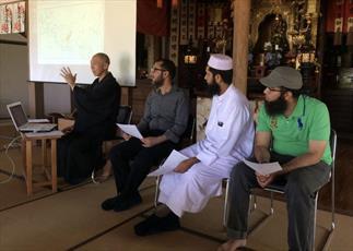 معبد بودایی در ژاپن نشست های اسلام شناسی برگزار کرد