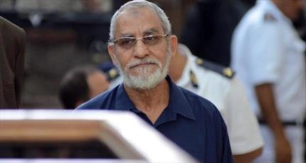 رهبر اخوان المسلمین مصر به همراه ۱۲ نفر دیگر امروز محاکمه می شود