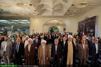 آیین گشایش بخش بین الملل نمایشگاه قرآن برگزار شد