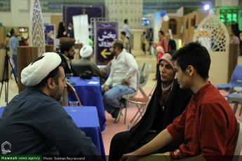 تصاویر/ نهمین روز  بخش حوزوی  نمایشگاه قرآن کریم(۲۶)