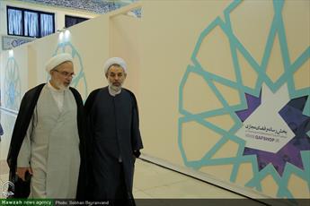 تصاویر/ نهمین روز بیست و ششمین نمایشگاه بین المللی قرآن کریم(۲۷)