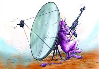 آسیب های ماهواره در خانواده