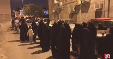 راهپیمایی مسالمت آمیز مردم روزه دار بحرین توسط  رژیم آل خلیفه سرکوب شد