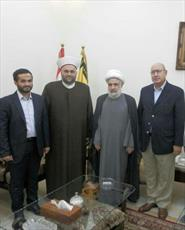 دبیرکل جنبش امت با معاون دبیر کل حزب الله لبنان  دیدار کرد