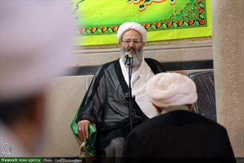 تصاویر/ سلسله جلسات تفسیر قرآن آیت الله محسن فقیهی