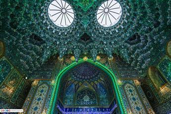 تصاویر جذاب از درب های حرم مطهر حضرت عباس (ع)