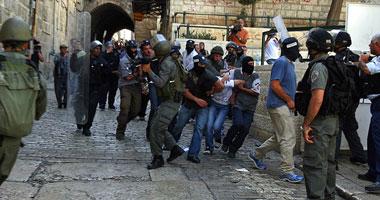 هجوم شهرک نشینان و عناصر اطلاعات اسرائیل به مسجد الاقصی