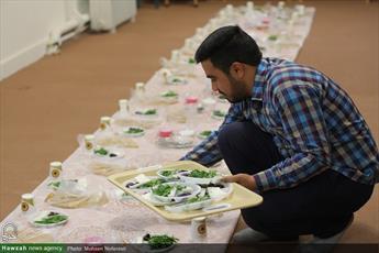 تصاویر/ ضیافت افطاری در مدرسه علمیه امام حسن مجتبی(ع) بیرجند