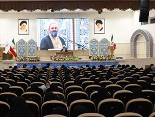 سومین همایش ضیافت نور در استان قم برگزار شد