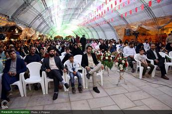 تصاویر/ جشن ولادت امام حسن مجتبی علیه السلام در حرم کریمه اهل بیت(ع)