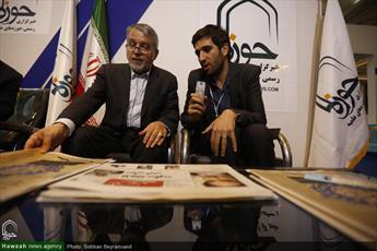 تصاویر/ غرفه خبرگزاری حوزه در  نمایشگاه قرآن کریم(۴۱)
