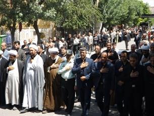 برپایی دسته عزاداری سالگرد ۱۴ و ۱۵ خرداد و شهادت حضرت علی(ع) در تبریز