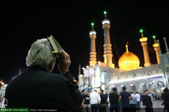 تصاویر/ مراسم احیاء شب نوزدهم ماه مبارک رمضان در حرم حضرت معصومه(س)