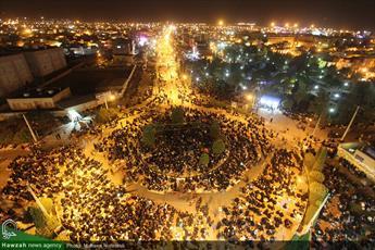تصاویر/ مراسم احیاء شب نوزدهم ماه مبارک رمضان در بیرجند