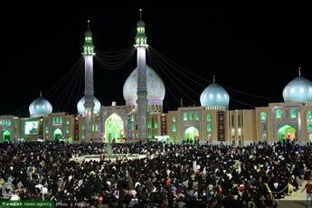تصاویر/ مراسم احیاء شب نوزدهم ماه مبارک رمضان در مسجد مقدس جمکران