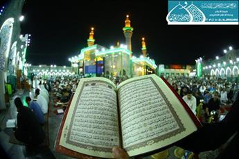 مراسم احیای شب نوزدهم ماه مبارک رمضان در حرم کاظمین (ع) برگزار شد+ تصاویر