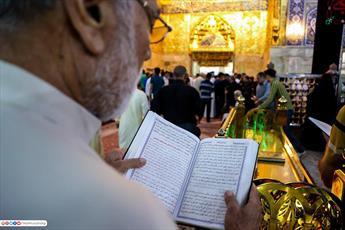 مراسم شب قدر در حرم حضرت سید الشهدا (علیه السلام) برگزار شد+ تصاویر