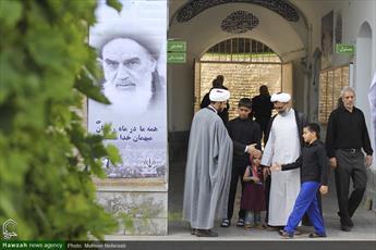 تصاویر/ مراسم بزرگداشت امام خمینی(ره) در مدرسه علمیه معصومیه بیرجند