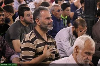 تصاویر/ مراسم احیای شب نوزدهم  ماه مبارک رمضان در حرم حضرت زینب(س)