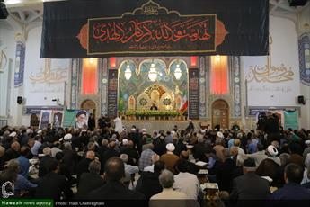 تصاویر/ مراسم گرامیداشت سالروز قیام ۱۵ خرداد در حرم حضرت معصومه(س)
