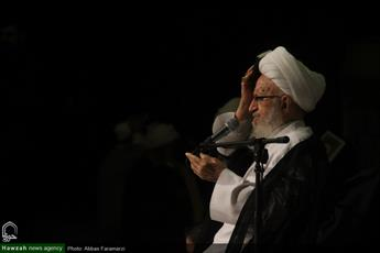 تصاویر/ مراسم احیای شب بیست و یکم ماه مبارک رمضان در مدرسه علمیه امام کاظم(ع)