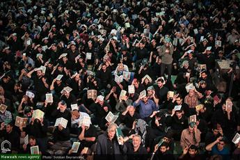 تصاویر/ مراسم احیای شب بیست و یکم رمضان در مصلای تهران