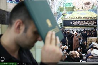 تصاویر/ مراسم احیای شب بیست و یکم ماه مبارک رمضان در حرم کریمه اهل بیت(س)