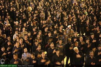 تصاویر/ مراسم احیای شب  بیست و یکم ماه رمضان در در امامزاده شهدای باقریه بیرجند