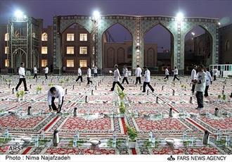 نظر آیت الله العظمی مکارم شیرازی پیرامون افطار هنگام غروب آفتاب