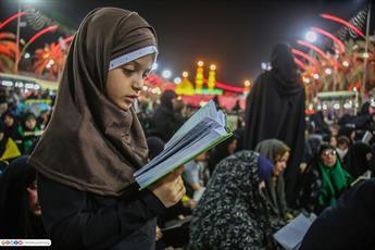 دومین شب قدر در حرم حضرت اباعبدالله الحسین (ع)برگزار شد +تصاویر