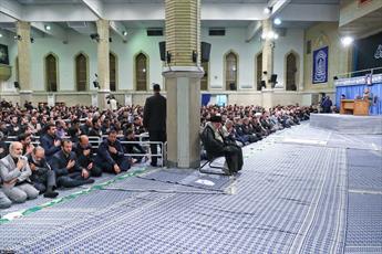 تصاویر/ مراسم سوگواری شهادت امام علی(ع) در حضور رهبر معظم انقلاب
