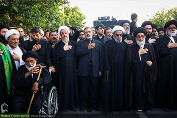 تصاویر/ دسته عزای علوی در مشهد مقدس