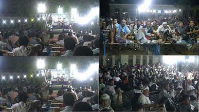 مراسم شهادت امیرالمؤمنین(ع) در استان های مختلف یمن برگزار شد+ تصاویر
