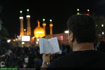 تصاویر/ مراسم احیای شب بیست و سوم ماه مبارک رمضان در حرم کریمه اهل بیت(ع)